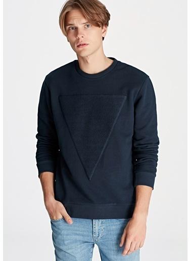 Mavi Sweatshirt Renkli